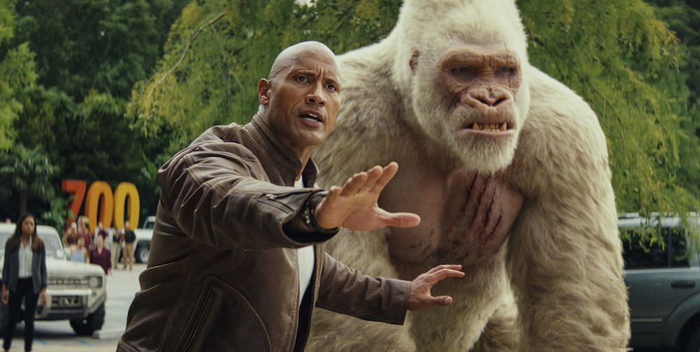 Rampage The Rock Is The Action Hero We Deserve 812filmreviews
